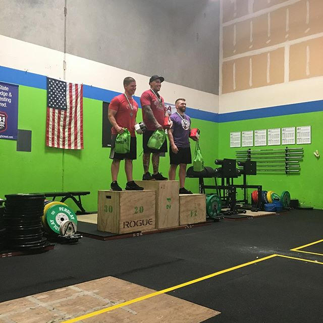 So proud of @b3.njamin , Jeremy, and @kellybesmer  #rookierumble @rookierumblecompetitions #crossfit #cascadecrossfit