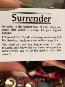 Surrender May 7