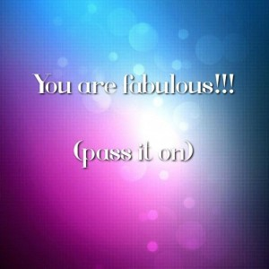 You are Fab. Sept 5