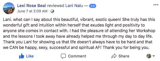 Lani Nalu Review Lexi