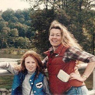 We were cute! My mom always hiked and loved taking us to her favorite place, Hawk Mountain. Check out my cool patch!