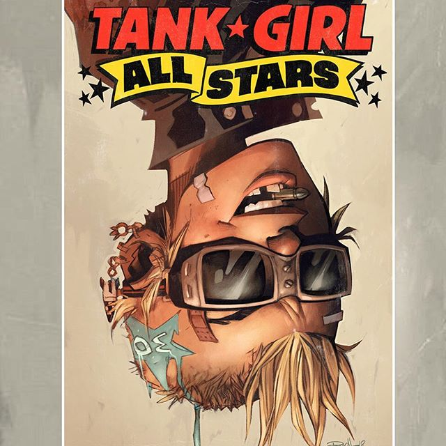 💥🍻OUT TODAY! Tank Girl All Stars 3! With art by @jimmahfood and myself! Stories by the one n only Alan C. Martin!! Insanity!! Get yours online or at good comic shops!! From @titancomics #tankgirlsllstars#ncbd#timefortankgirl#tankgirl#comics#booga#jetgirl#party#beer#kangaroos