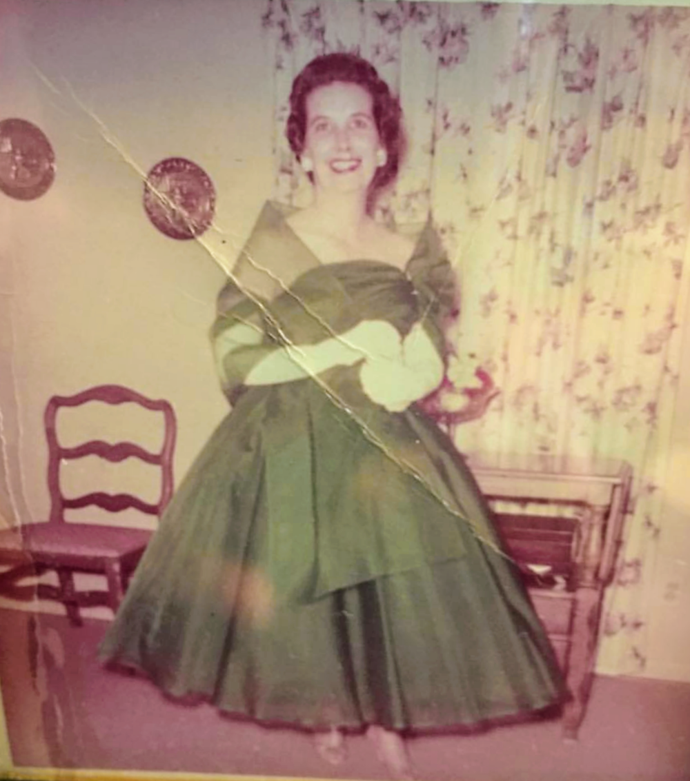 Ima Jo Gonzalez - Mrs. Ima Jo Gonzalez — Nicole's grandmother — an Artist, Designer and Maker. A special woman who inspired those around her with her beauty, grace and creative spirit.