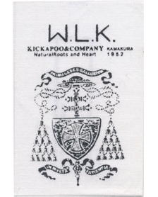 Label of walking K