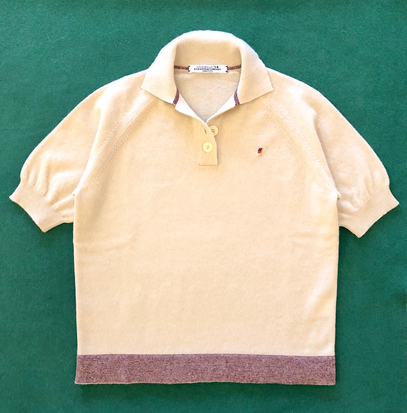 Lamb's Wool Polo Sweater