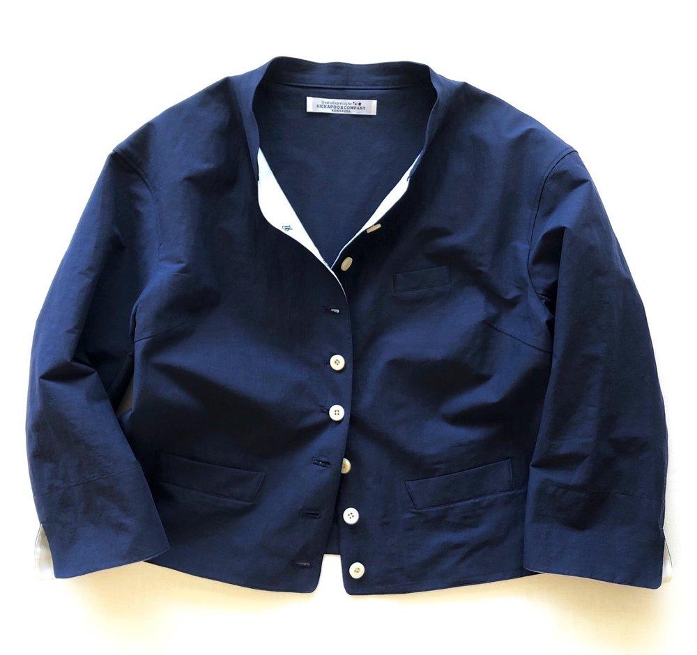 Light-Hearted Jacket / Moon Light Blue