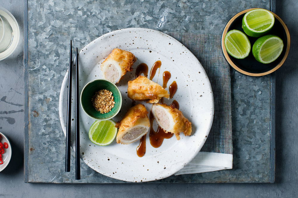 Vietnamese stuffed calamari $16.50 (Seafood)