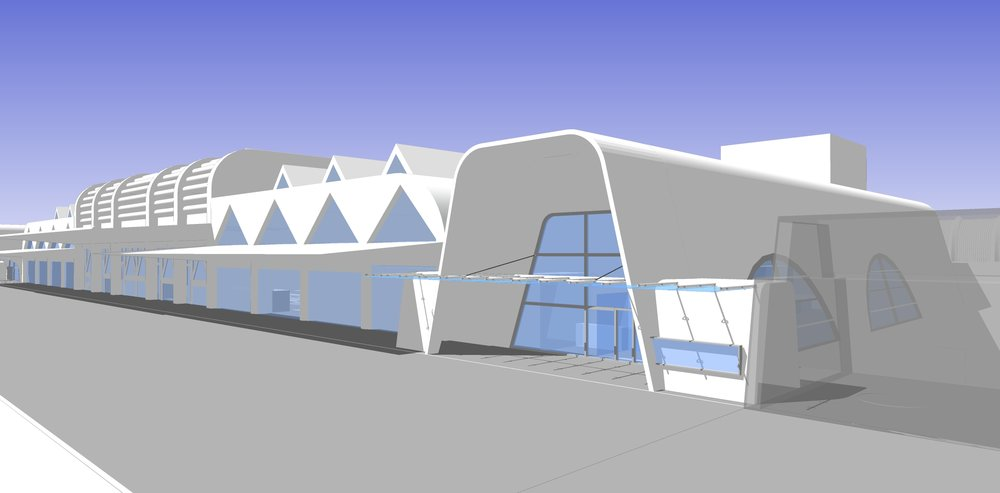 Kaohsiung Int'l Airport Exit Hall<br>高雄國際機場出境大廳擴建