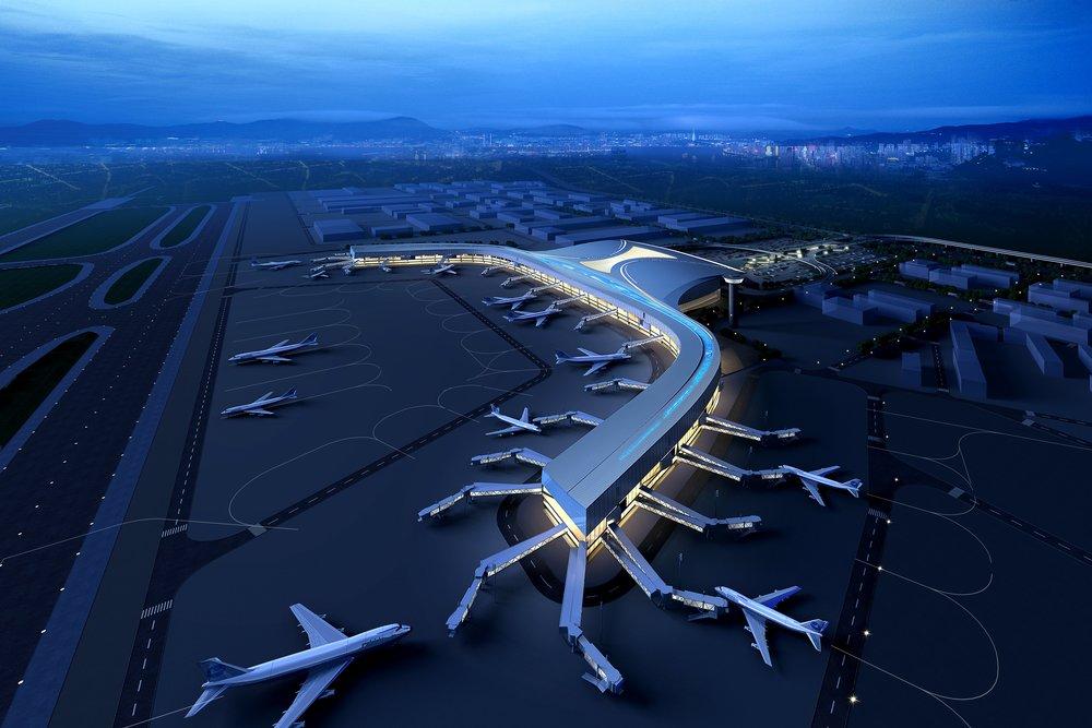 Yongqiang Int'l Airport T2<br>永強國際機場T2