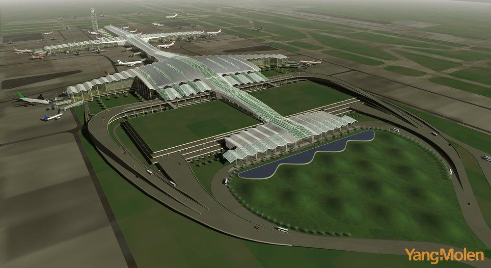 Shenzhen Bao'an Int'l Airport T3<br>深圳寶安國際機場T3