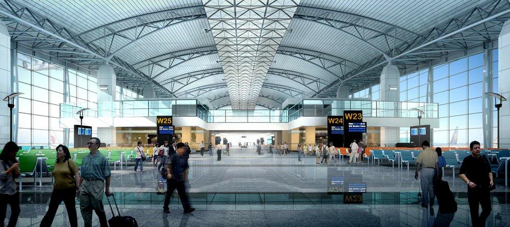 Baiyun Int'l Airport Concourse 3<br>新白雲國際機場3號指廊