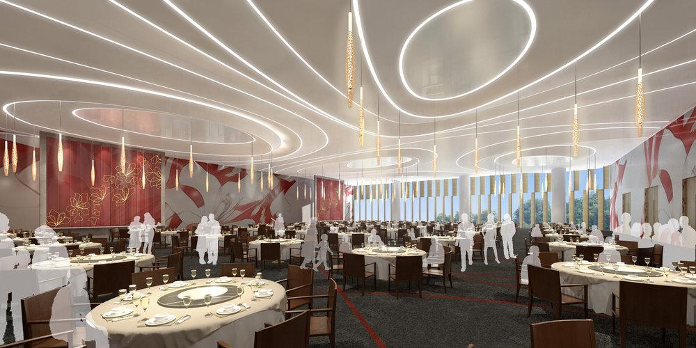 Zhangzhou Fliport Hotel Interior<br>漳州佰翔酒店室內設計