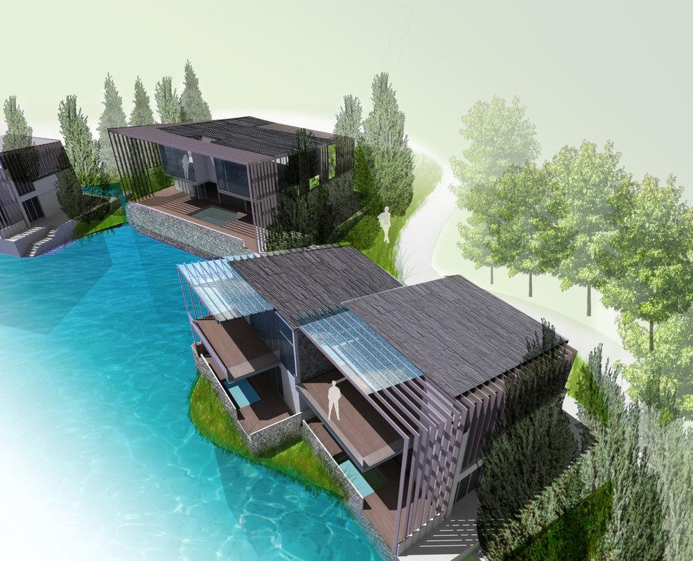 Zhangzhou Fliport Hotel Landscape<br>漳州佰翔酒店景觀設計