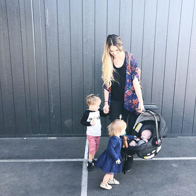 "As a mama of three little ones I understand that the days can be tiring at times and frustrations can surface regularly. 👶🏼👶🏼👶🏼 That alone makes parenting tough but the fact that my kids are always watching me throughout the day and modeling my behavior makes things even tougher. Im sure you've heard it before and if you're a parent you know it rings true, ""Treat others kindly and watch the words you use because your kids are always watching and listening."" This is of course great advice but lately I've been challenged to not just think about how my kids see me treat OTHERS but also how I treat MYSELF and just my general state of being/mood. - - Do my kids see someone who has been made miserable by Gods Word and His presence in my life? OR am I showcasing my joy, peace and hope as a result of the Gospel? The good news won't be received well if it is delivered in a bad mood. What type of gospel am I delivering to the people in my own home that get to see me all the time? It's scary to think about our kids not treating others well as a result of watching us or replicating our negative behaviors but what's even scarier is the thought of them not wanting to surrender their life to God because they have seen and not liked the way that it has made us as their parents. Just remember that God has given us an abundant supply of grace, love, peace, patience, joy and hope if we choose to stay plugged into Him. Our kids are watching and their future decisions may be hinging on the way we are acting today. ❤️ #sheisclaimed @sheisclaimed"