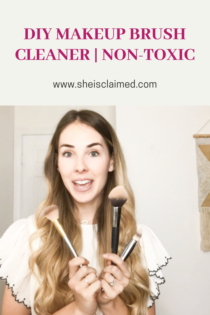 non-toxic makeup brush cleaner