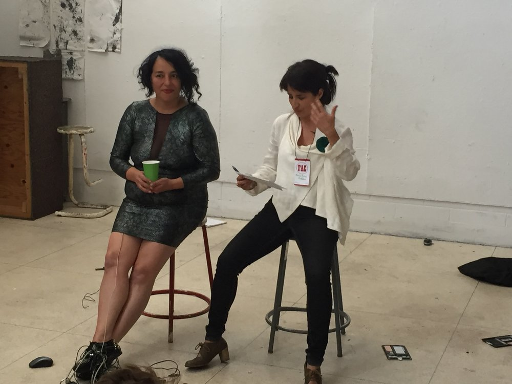 Feminist Art Conference, Toronto. 2015