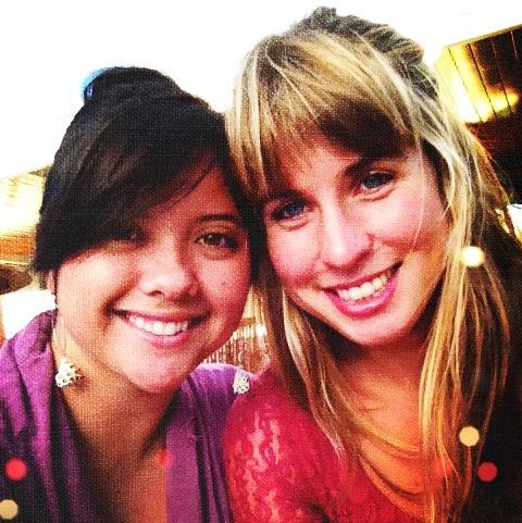 Claire + Felicity. Circa 2013.