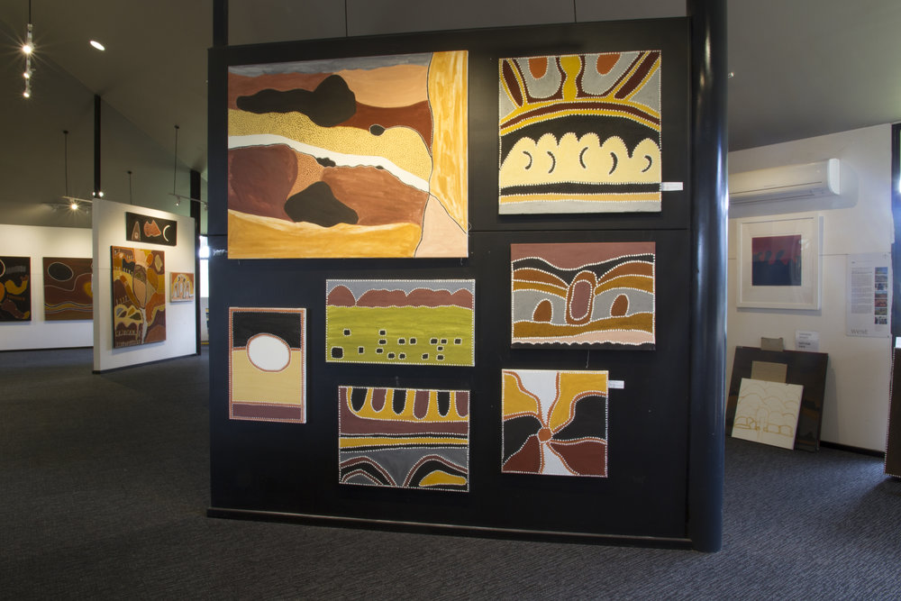 Copy of Rehanging Warmun Art Centre's gallery space
