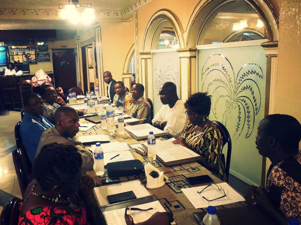 LEADLiberia Team Meeting