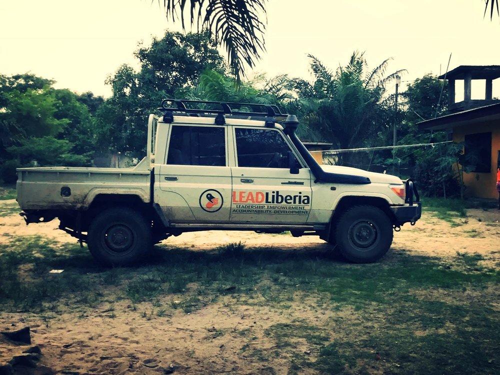LEADLiberia Truck