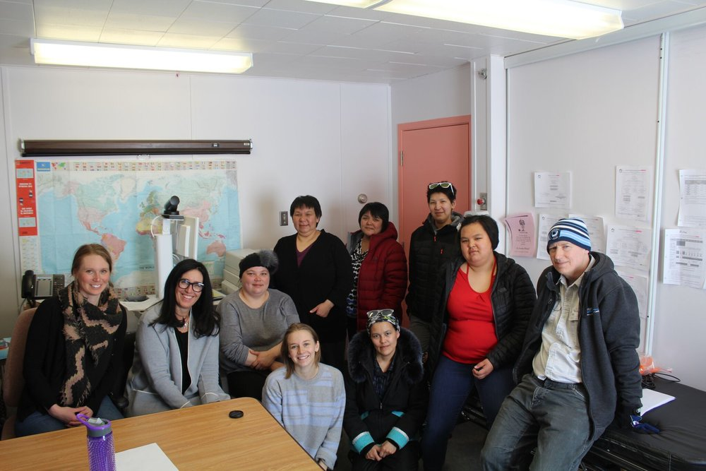 Community DOT workers, Qikiqtarjuaq