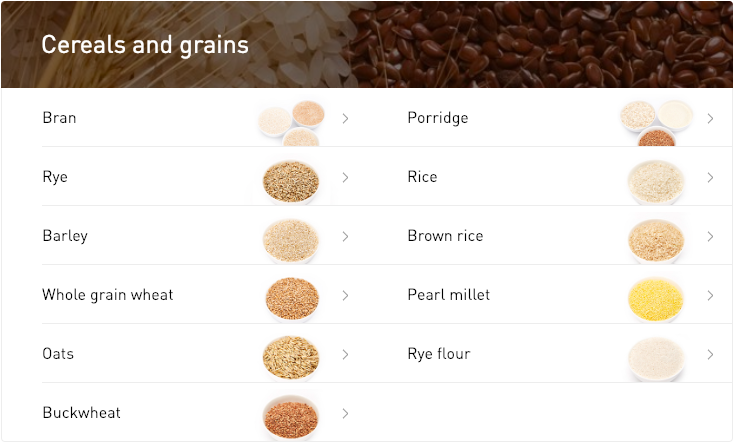 Some of my recommended foods; Atlas says adding them to my diet can reduce disease risk