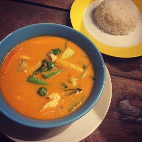 Red Curry at 'Madame Musur' Bangkok
