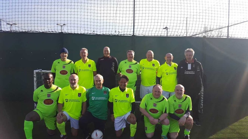 walking football -