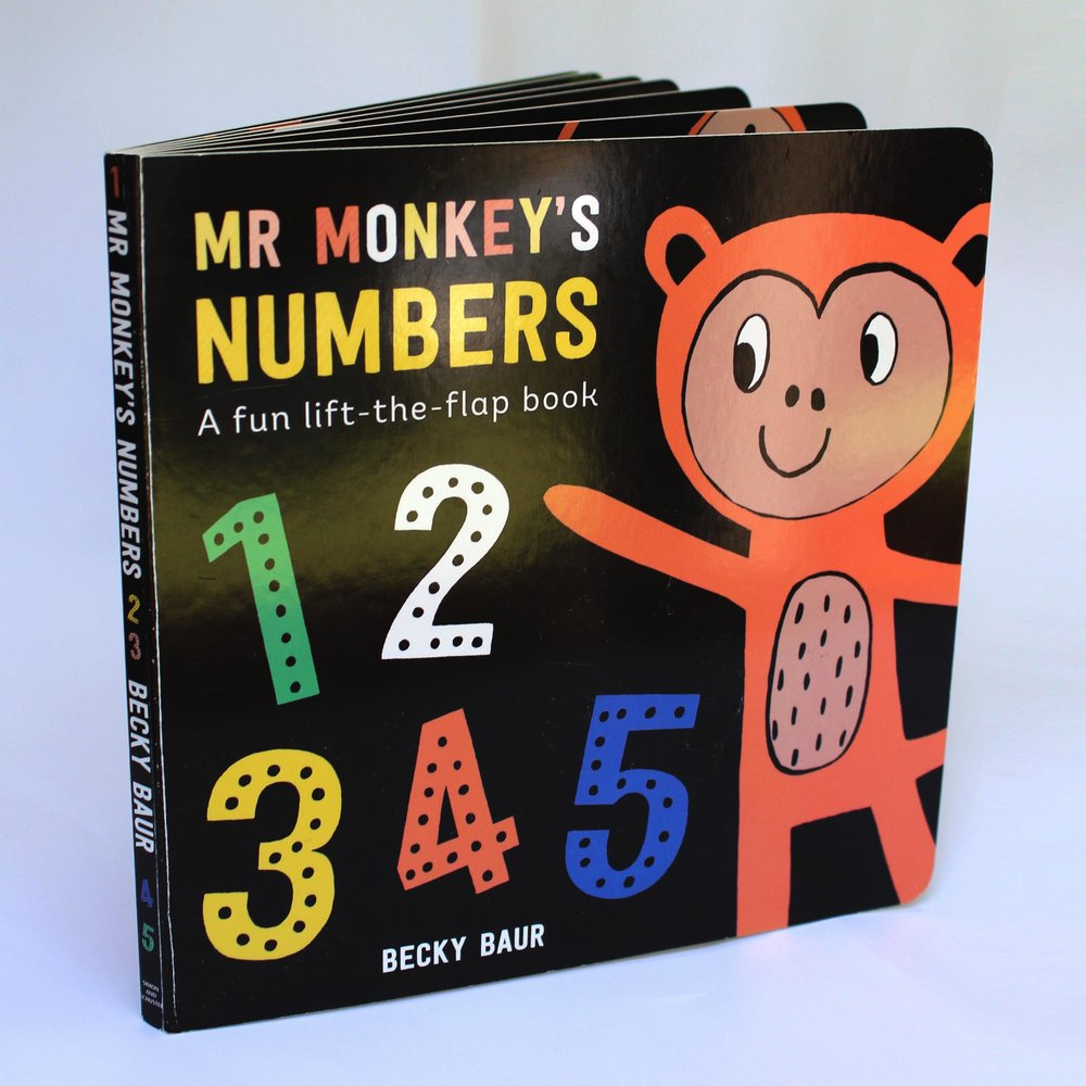 Mr Monkey's Numbers published by Simon & Schuster