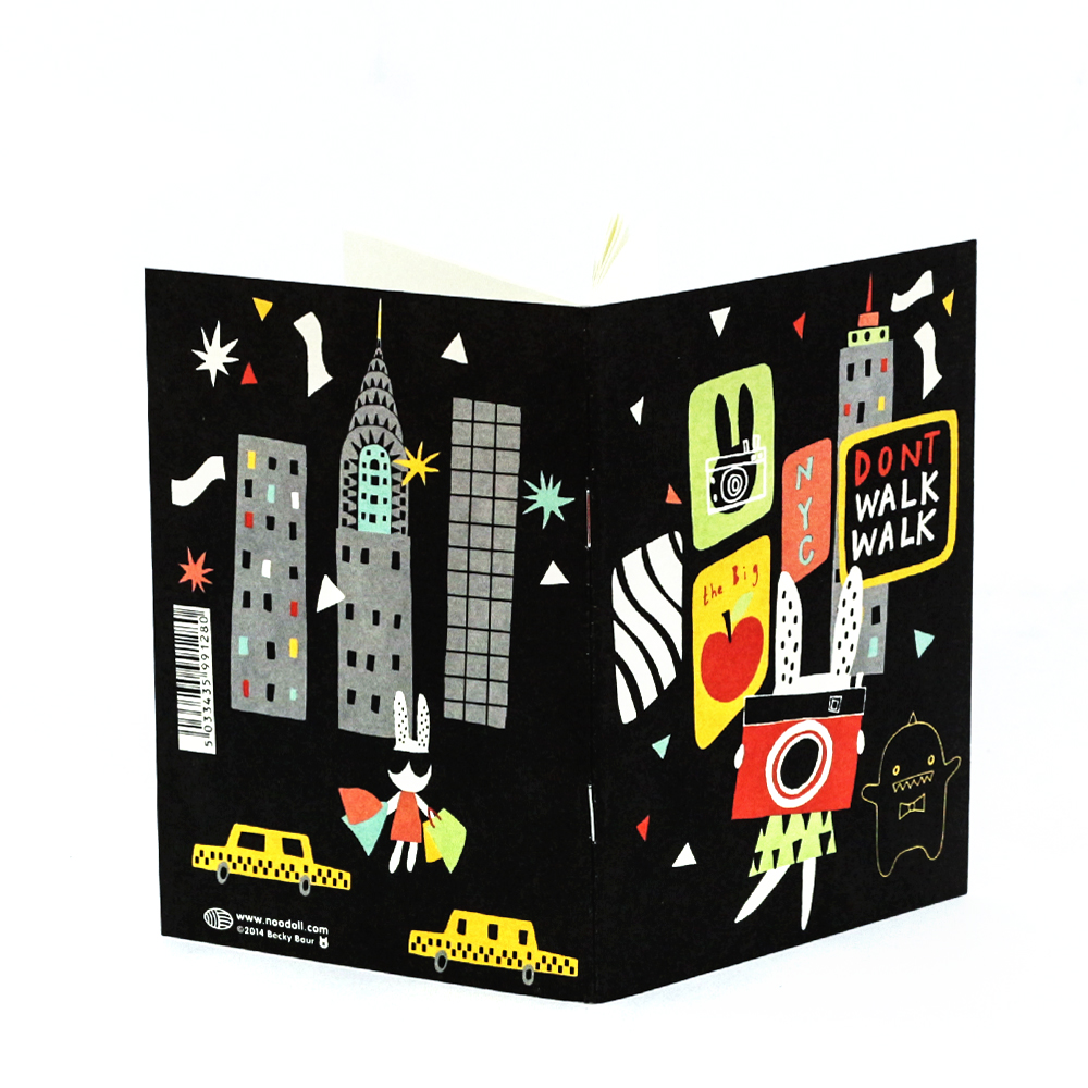 New York Notebook with Noodoll