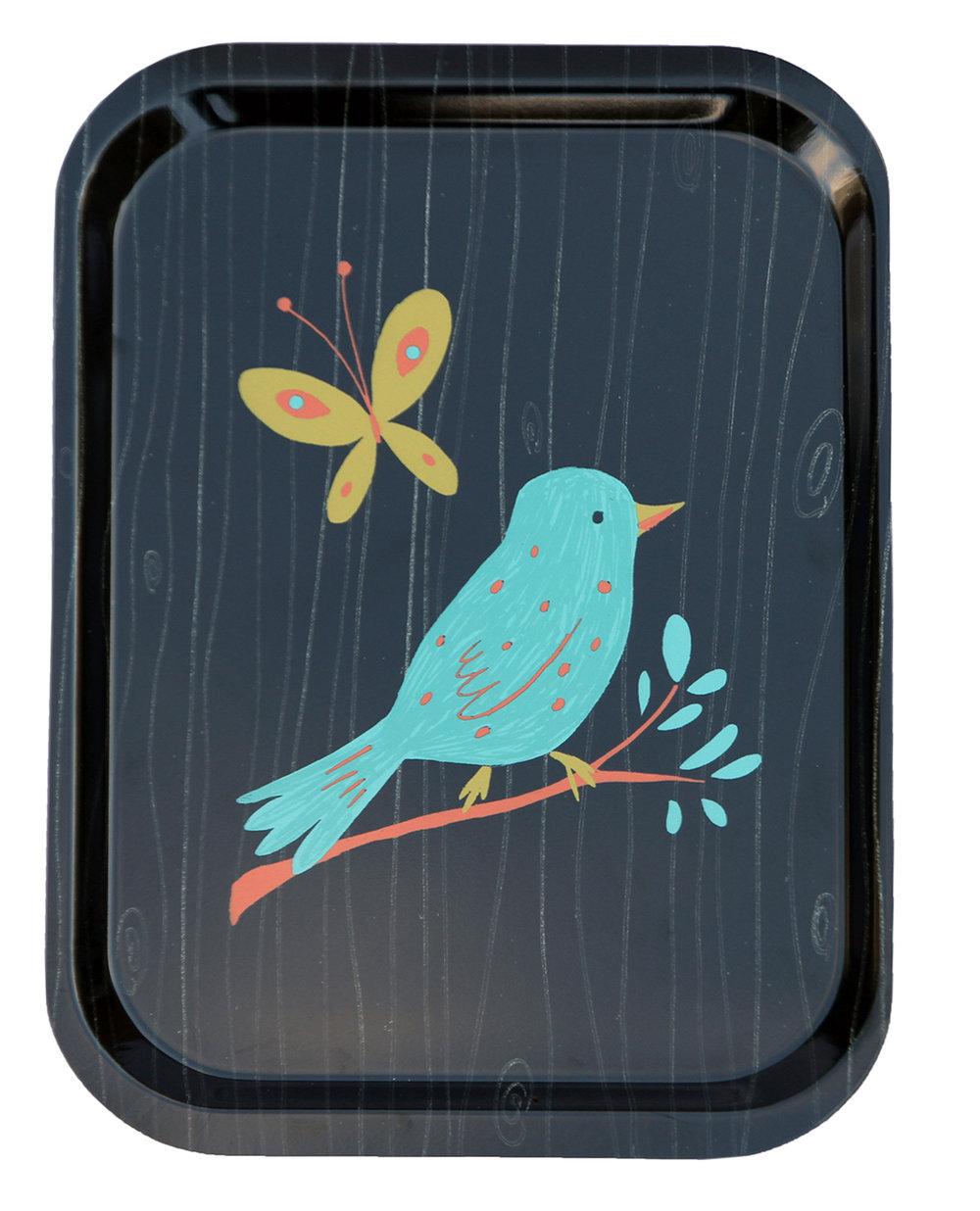Bluebird tray