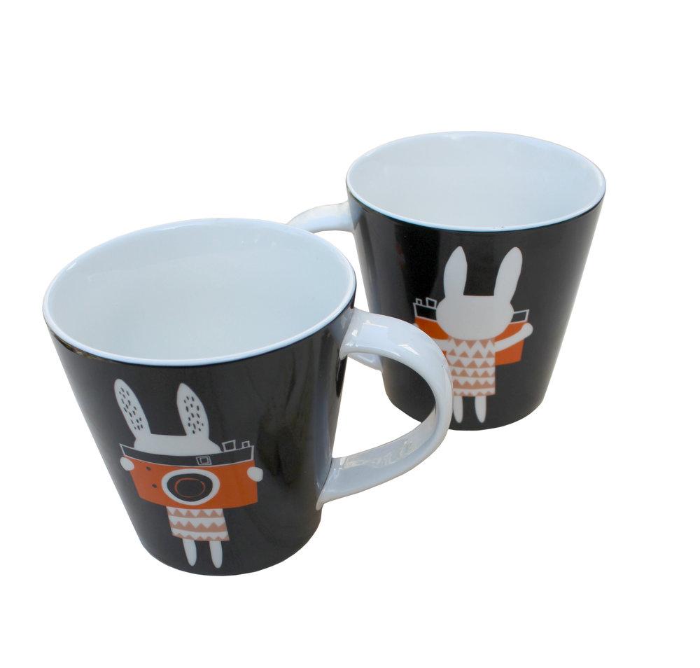 Camera Rabbit mug