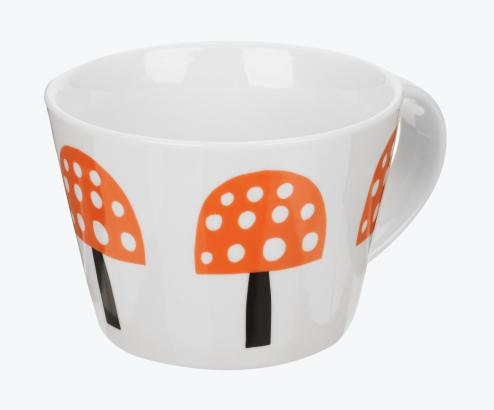 Toadstool Mug with Make International