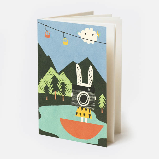 Switzerland Pocket notebook with Noodoll