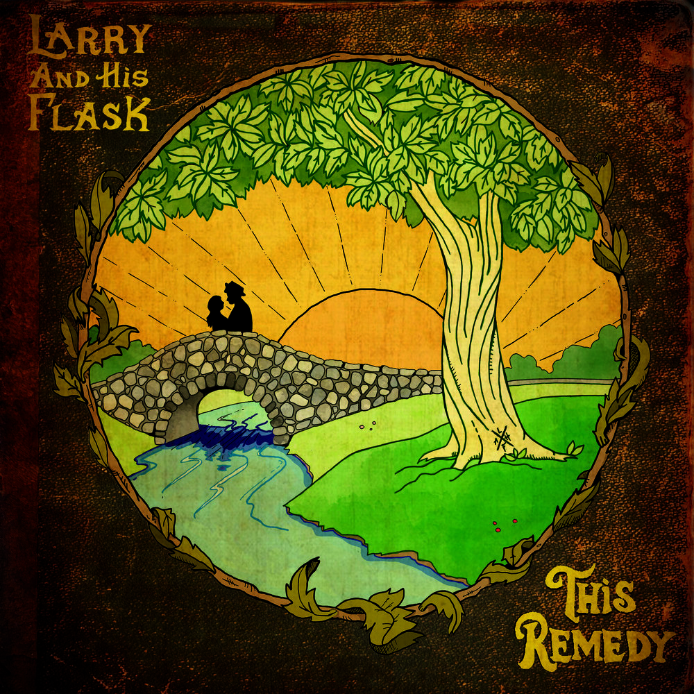 "Album Art for ""This Remedy"" for the band Larry And His Flask. 2018."