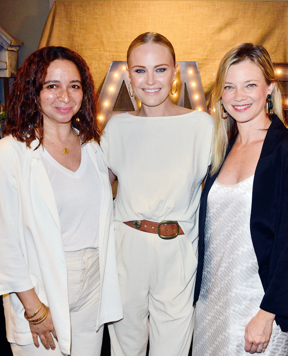 Maya Rudolph with EMA Board Members Malin Akerman and Amy Smart