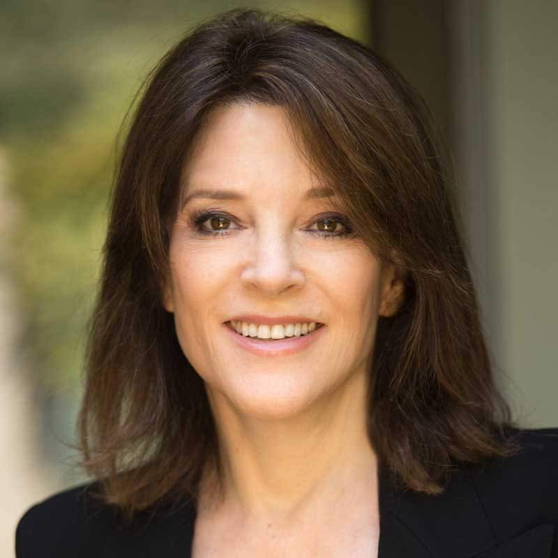 Marianne Williamson - Author, Lecturer, Activist, US Presidential Candidate 2020