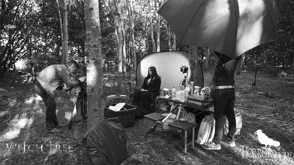 Behind the scenes of The Witch Tree.
