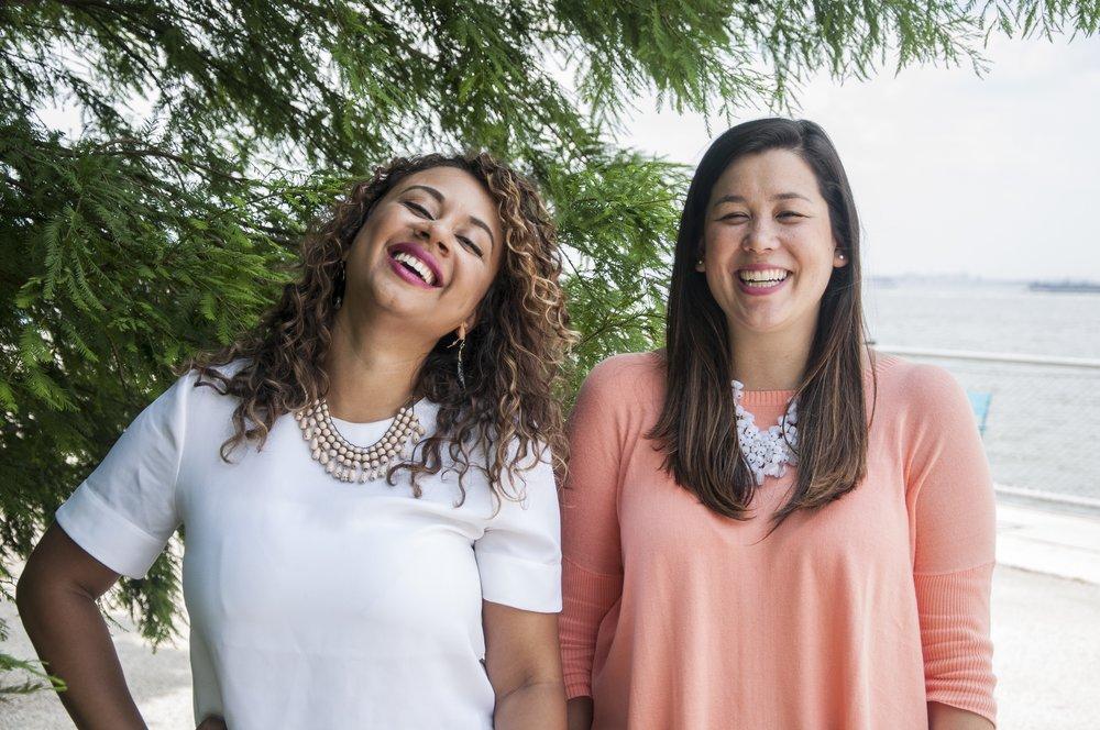 Naomi Hirabayashi and Marah Lidey, CEOs at Shine