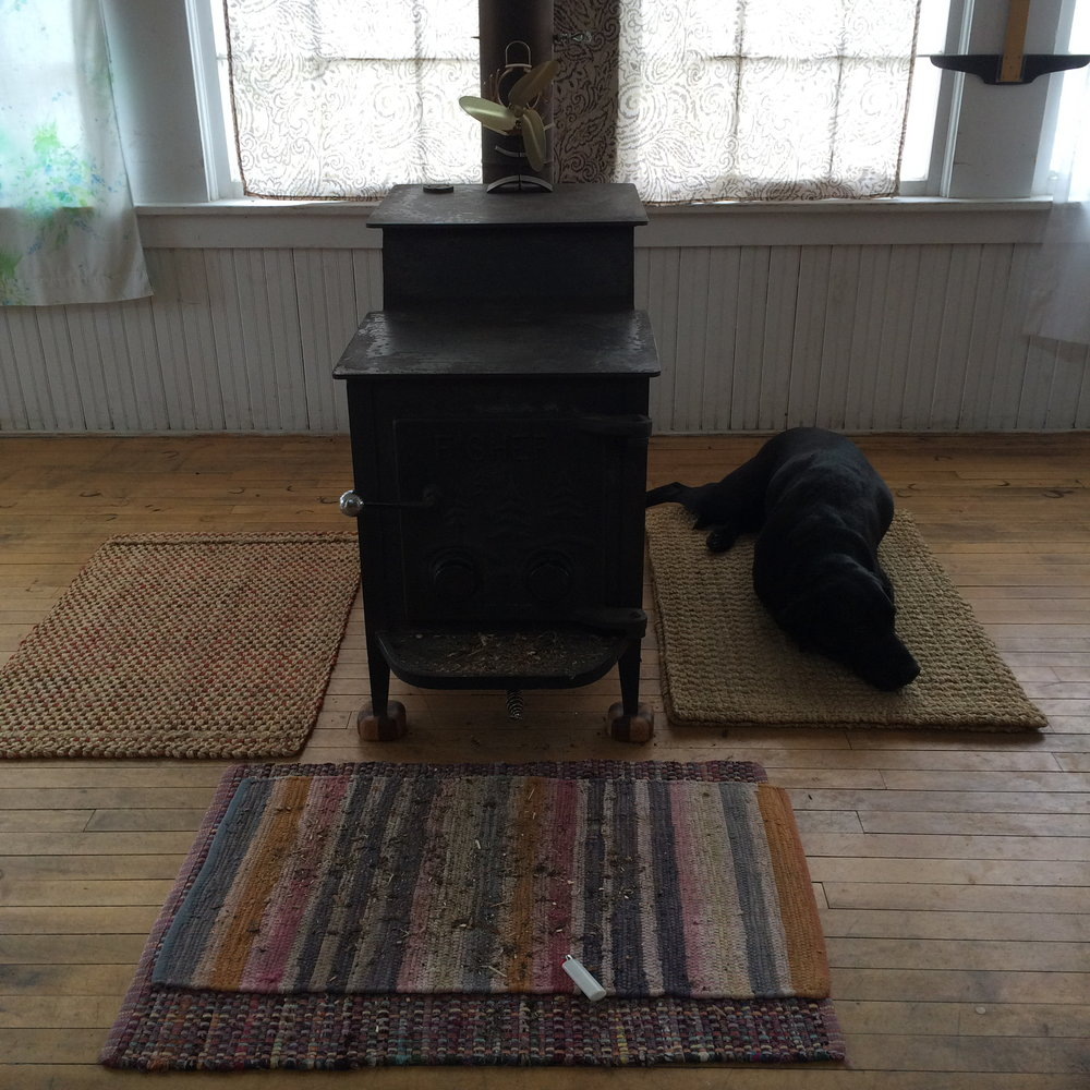 Wood Stove and Emma