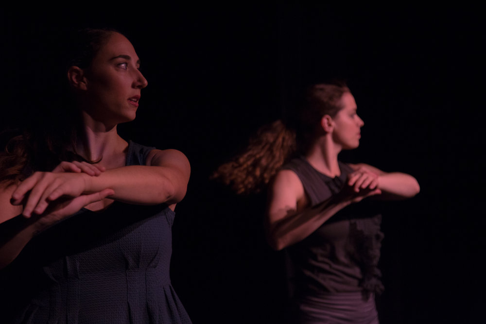 Page 115 , 2015. Dancers: Eleni Grove, Matina Phillips. Photo: David Dowling.