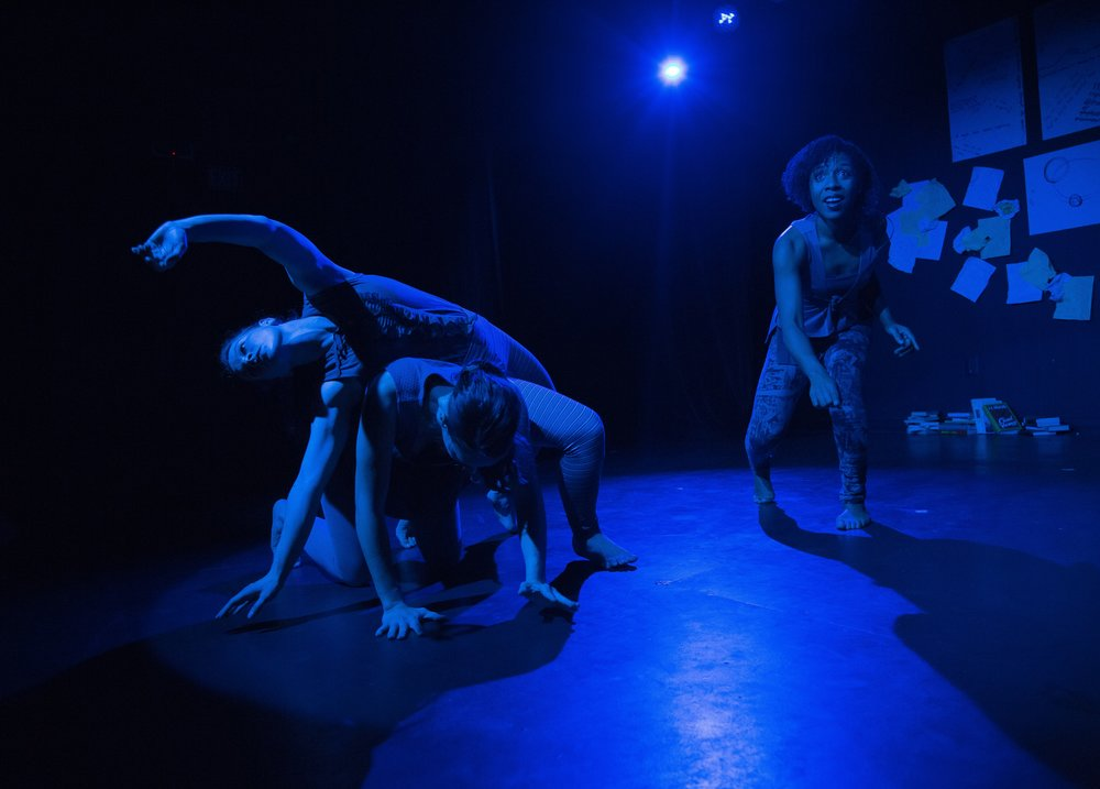 Page 115 , 2015. Dancers: Erica Chamblee, Eleni Grove, Matina Phillips. Photo: David Dowling.