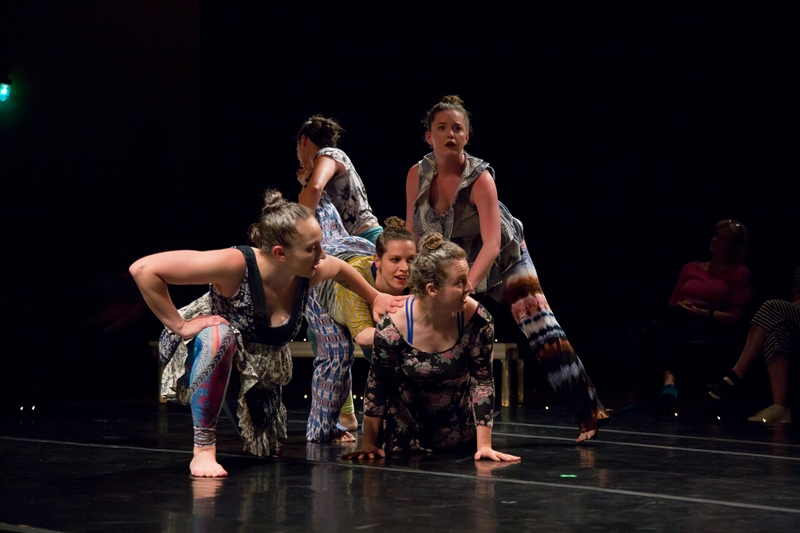 Faerie , May 2018. Dancers: Eleni Grove, Katherine LiPuma, Katie Murphy, Matina Phillips, Rebecca Weiss. Photo: David Dowling.