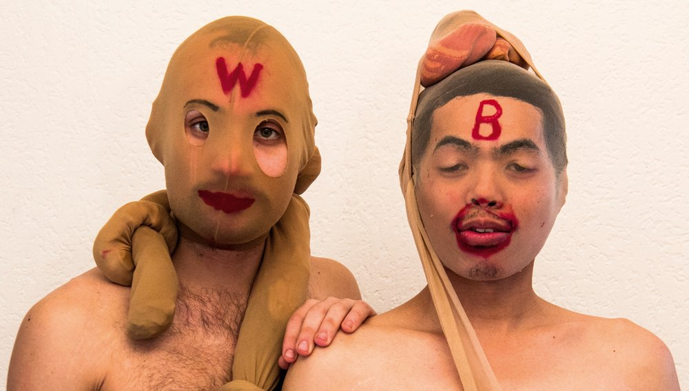 """Lalo G. &  Pepe Dayaw  as """"The Warmer Brothers"""" in  Hot Acts . 2013"""