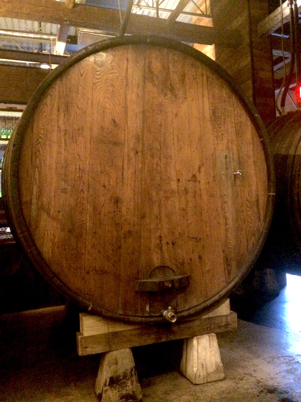 8-foot barrel of cider. Delicious.