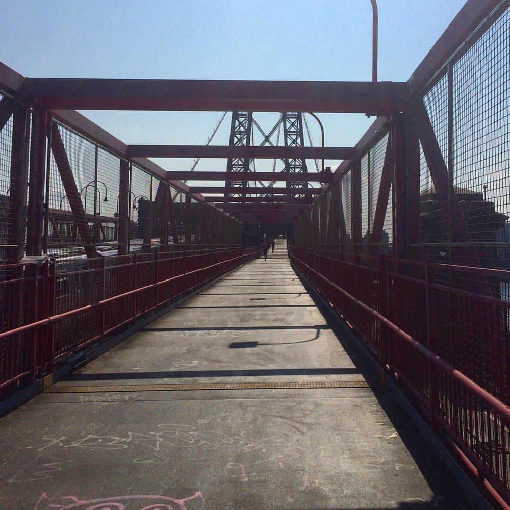 Williamsburg Bridge Ascent
