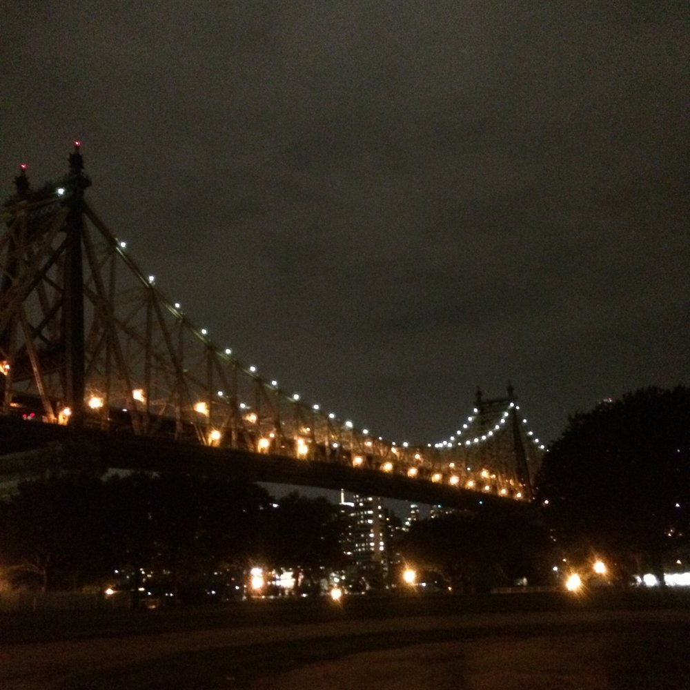 ...and the Queensboro's classic silhouette is growing on me.