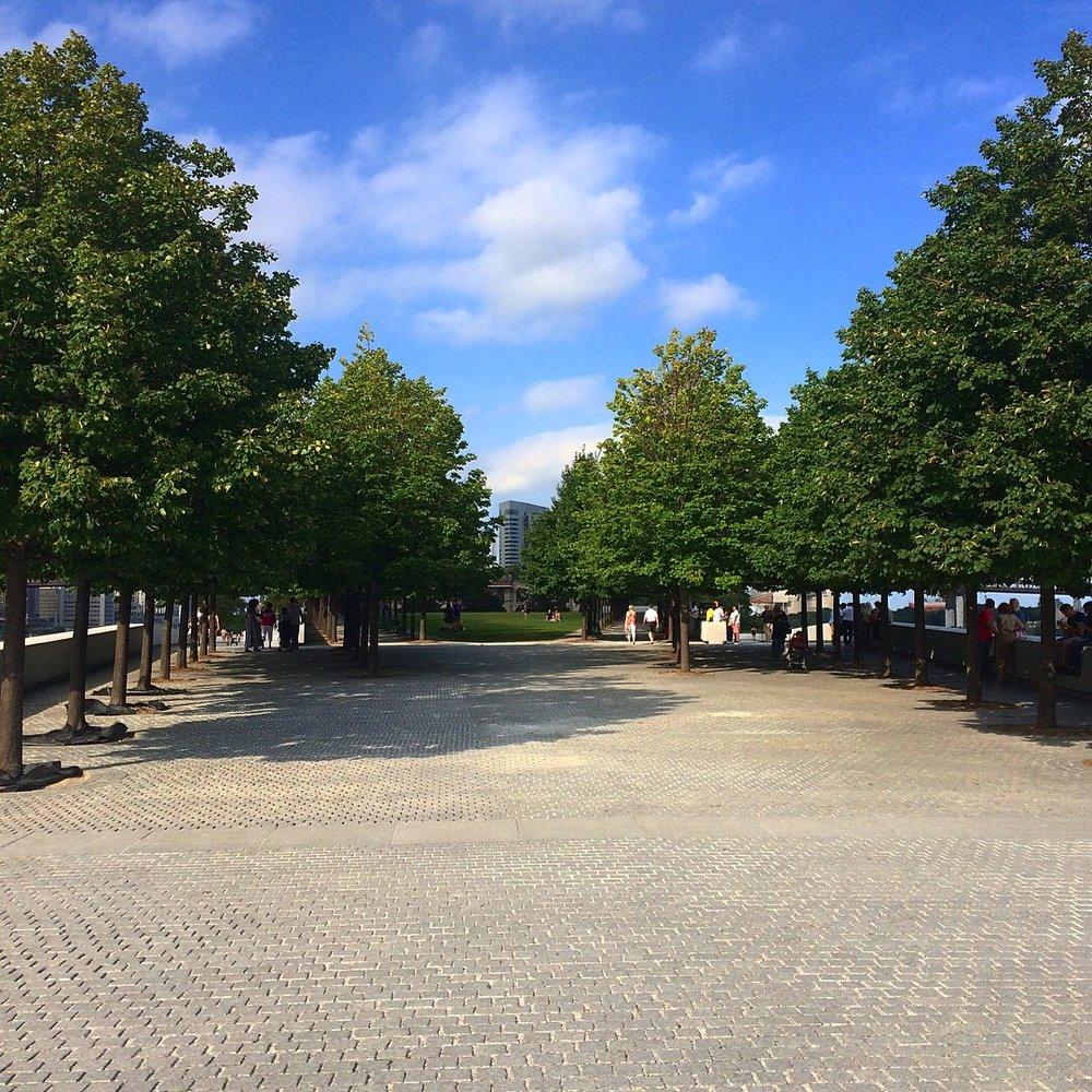 Inside the FDR Park