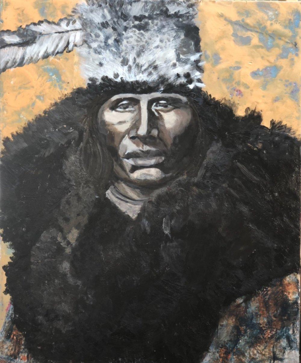 Man With Buffalo Robe