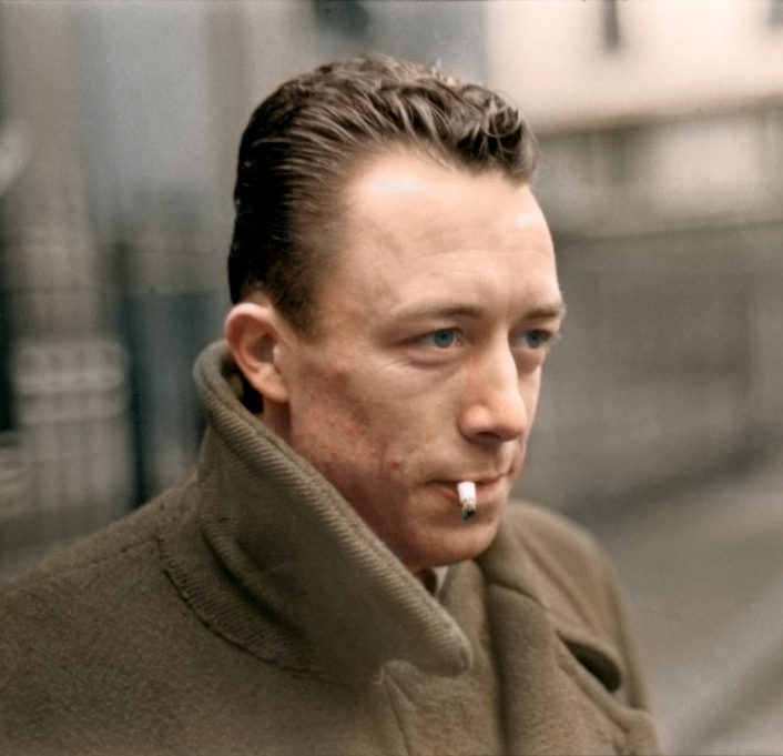 Nobel prize winner Albert Camus (1913-1960)